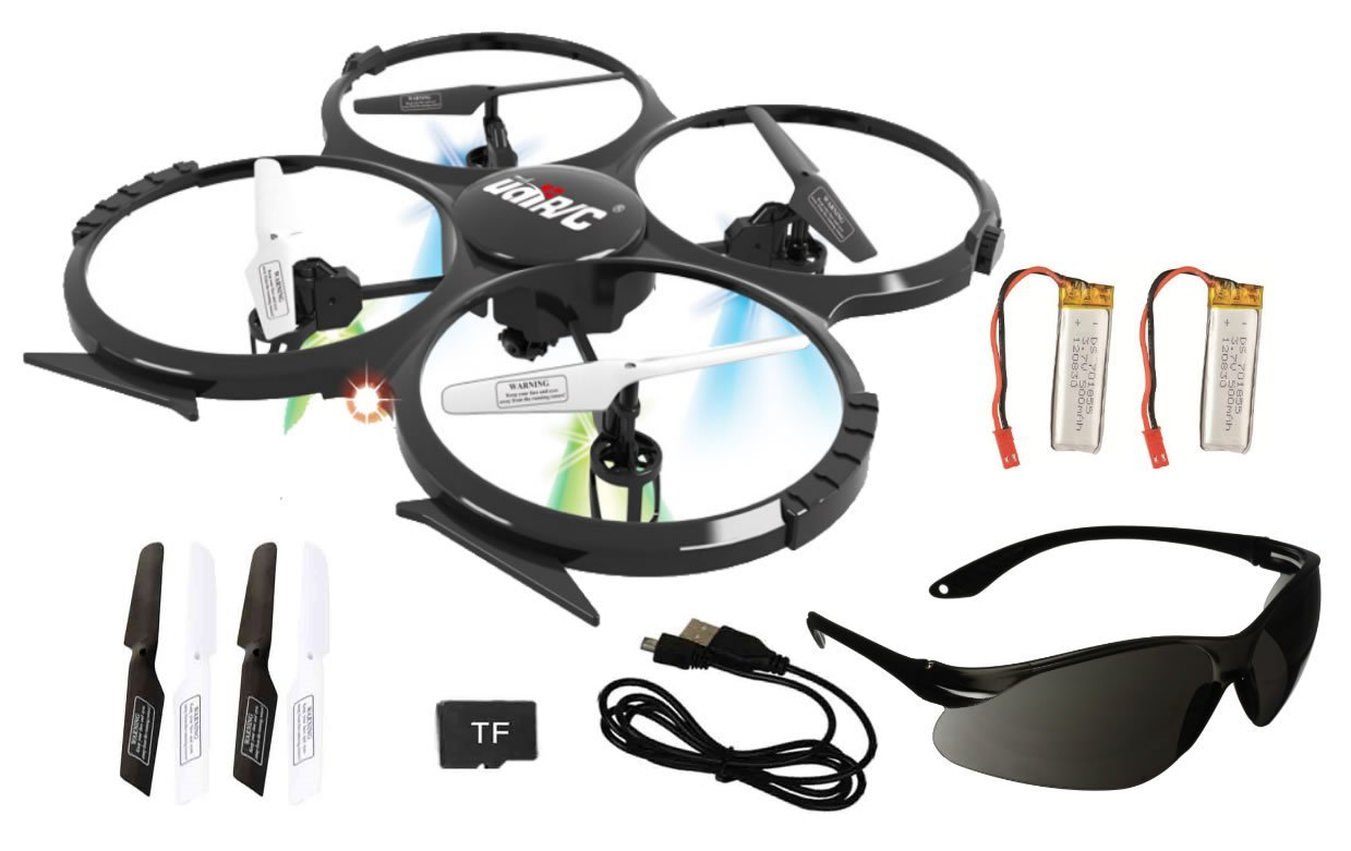 syma x5c quadrocopter drohne mit hd kamera und ersatzakku. Black Bedroom Furniture Sets. Home Design Ideas